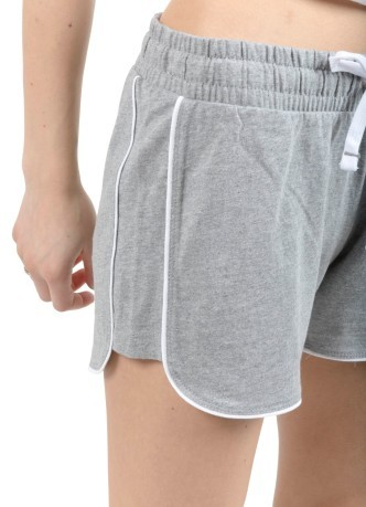 Short Donna Graphic grigio