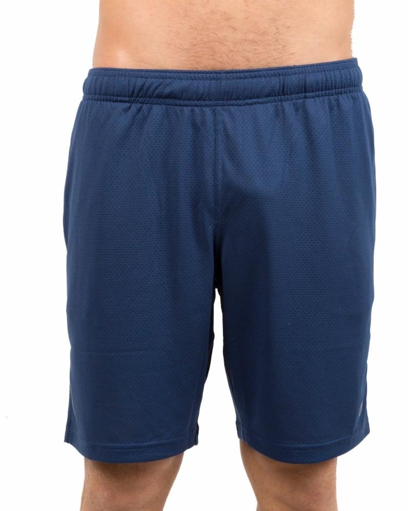 CMP Funktionsshort Laufhose Bermuda blau Muster Dryfunction Stretch