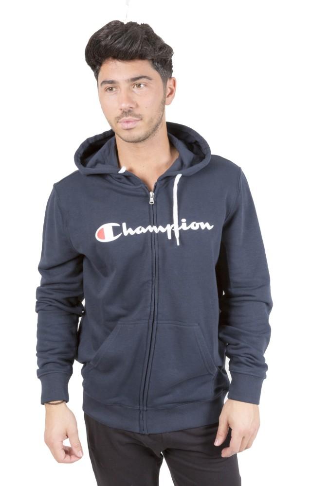 Felpa Full Zip Cappuccio Champion