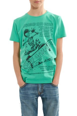 T-Shirt Stampa Long Board Jr