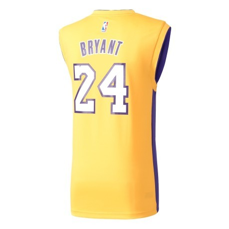 Tank top NBA Lakers Bryant colore Yellow Adidas