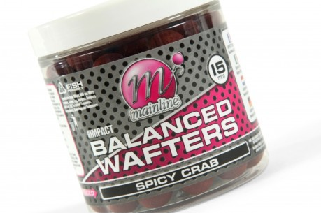 Boilies High Impact Balanced Wafter Spicy Crab