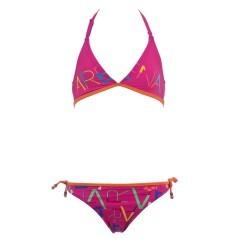 Bikini Lettering Youth Neckholder da bambina di Arena