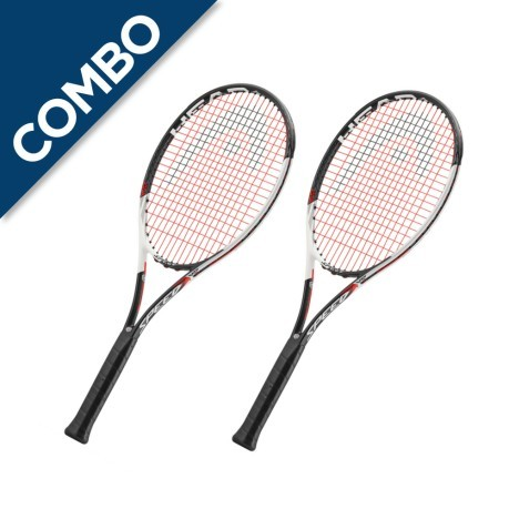 Combo 2 Racchette Graphene Touch Speed MP