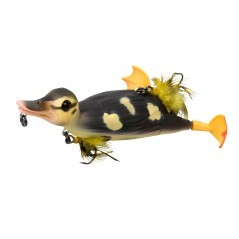 Esca Artificiale 3D Suicide Duck 70 g marrone giallo