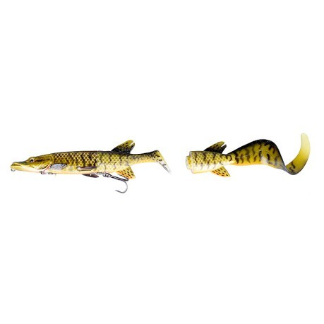 Esca Artificiale 3D Hybrid Pike 130 g giallo