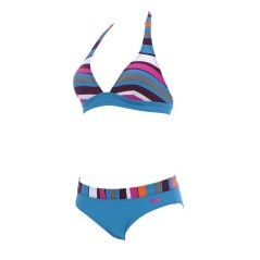Bikini da donna Asymmetrical Stripes di Arena