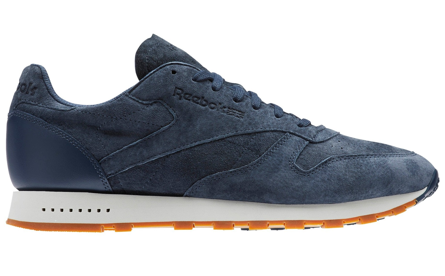322471997da Shoes mens CL Leather SG colore Blue - Reebok - SportIT.com