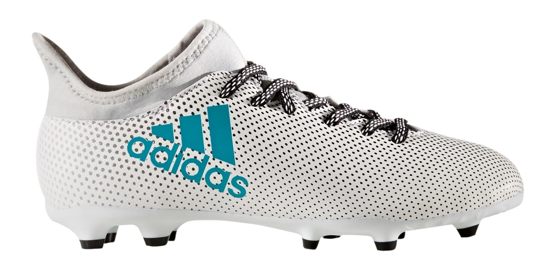 db3df49c4229 Football boots Kid Adidas X 17.3 FG Dust Storm Pack colore White - Adidas -  SportIT.com