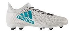 Adidas X 17.3 FG bianco azzurra