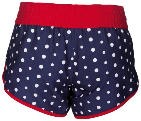 Short Donna Dots blu rosso