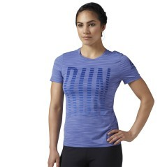 T-Shirt Donna Running ACTIVChill Run Graphic Tee giallo