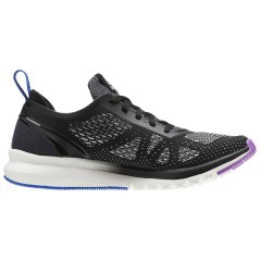 Scarpe Donna Print Run Smooth UltraKnit nero