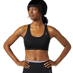 Top Donna Bra Running Essentials Sport nero
