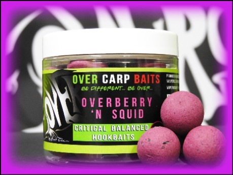 Hook Bait Overberry 'n Squid 16 mm