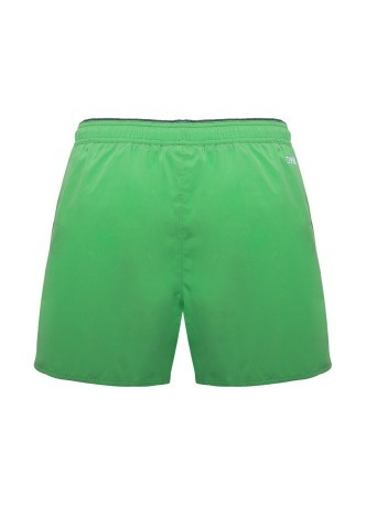 Costume Uomo Boxer Stretch verde
