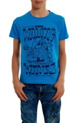 T-Shirt Junior Stampa Waves