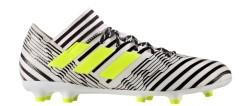 Scarpe Calcio Adidas Nemiziz 17.3 FG bianco