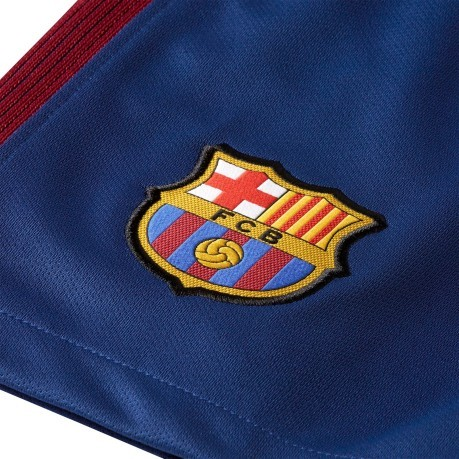 Short Barcellona Home/Away 17/18 blu rosso