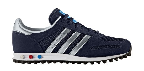 the best attitude b2e27 38089 Shoes Junior Trainers colore Blue Silver - Adidas Originals - SportIT.com