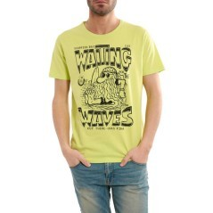 T-Shirt Uomo Stampa Waves