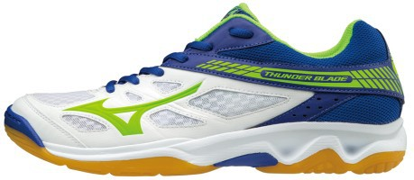 The Shoe Man Volleyball Thunder Blade colore White Blue - Mizuno ... 852588a12f