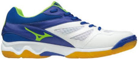 The Shoe Man Volleyball Thunder Blade colore White Blue - Mizuno -  SportIT.com 3fd28c5c84