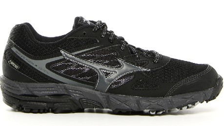 98384915 Shoes Running Wave Kien 4 G-Tx colore Black - Mizuno - SportIT.com