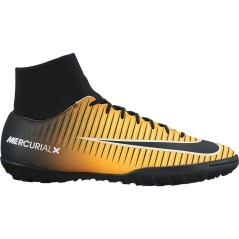 Scarpe Calcio Nike MercurialX Victory DF TF nero giallo