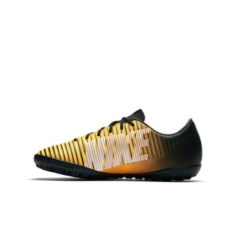 Scarpe Calcetto Bambino Nike Mercurial Victory VI TF GialloNero