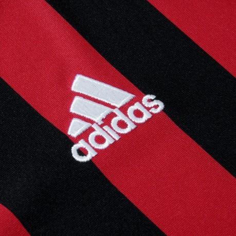 fdff549d70eac6 Maglia Milan Home 17/18 colore Rosso Nero - Adidas - SportIT.com