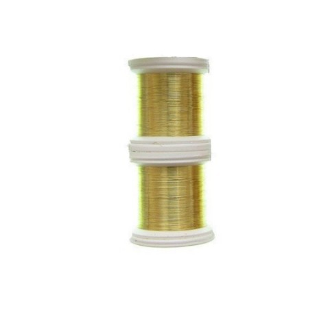 Construcción de alambre de Cable de Color 0,09 mm colore oro - Hends ...