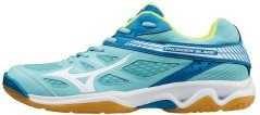 Scarpe Donna Volley Wave Thunder Blade bianco azzurro