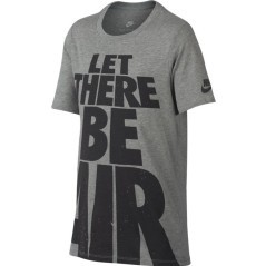 "Baby T-Shirt Sportswear ""Let There Be Air"" grey"