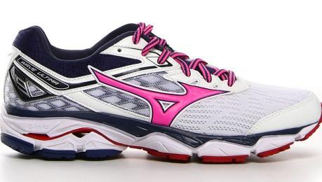 Scarpe Donna Running Wave Ultima 9 A3 colore Bianco Rosa - Mizuno ... 8c98431bd8a