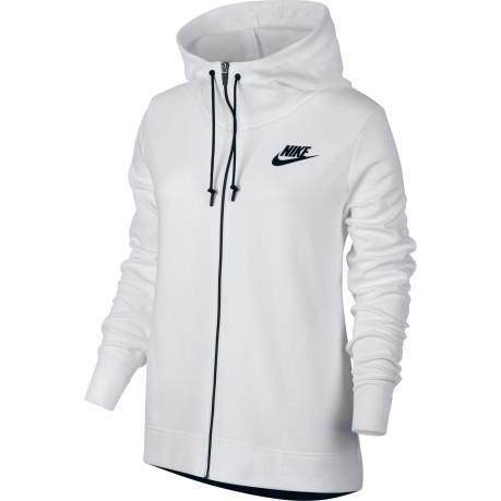 nike bianche e nere calcio, Nike ADVANCE 15 Felpa aperta