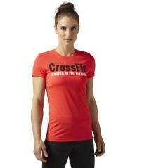 T-Shirt Donna FEF Speedwick New rosso
