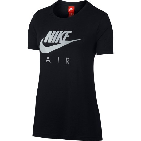 T-Shirt Donna Sportswear Air nero grigio