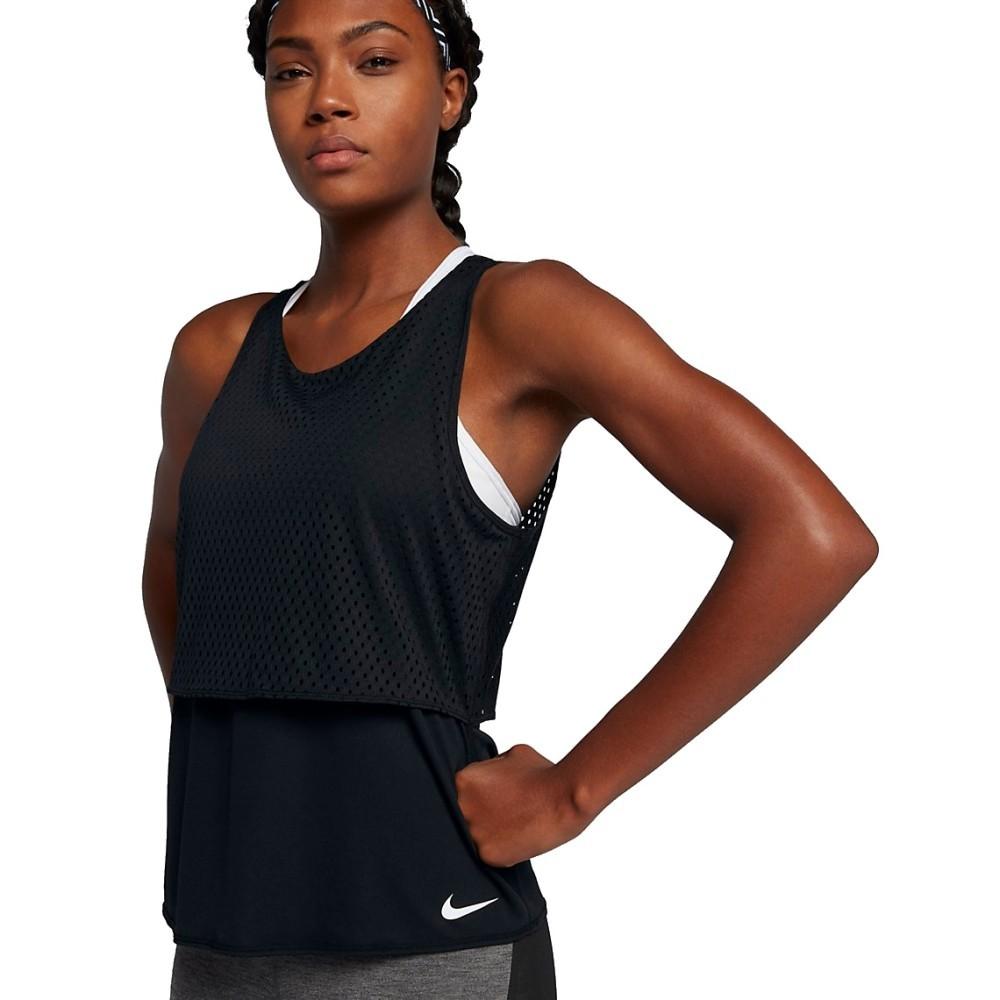 b4201239a1 Canotta Donna Reversibile Breathe Training Tank Nike   eBay