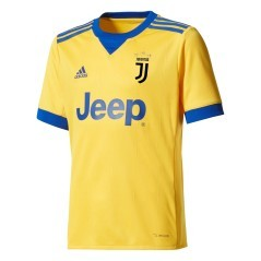 Maillot de Football Junior Juventus Away 17/18 jaune bleu