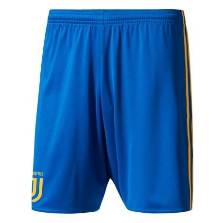 06f827d1b Short Soccer Juventus Away 17 18 colore Blue Yellow - Adidas ...