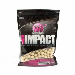 Boilies High Impact Peaches & Cream 1 kg