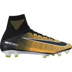 Scarpe Calcio Mercurial SuperFly FG nero giallo