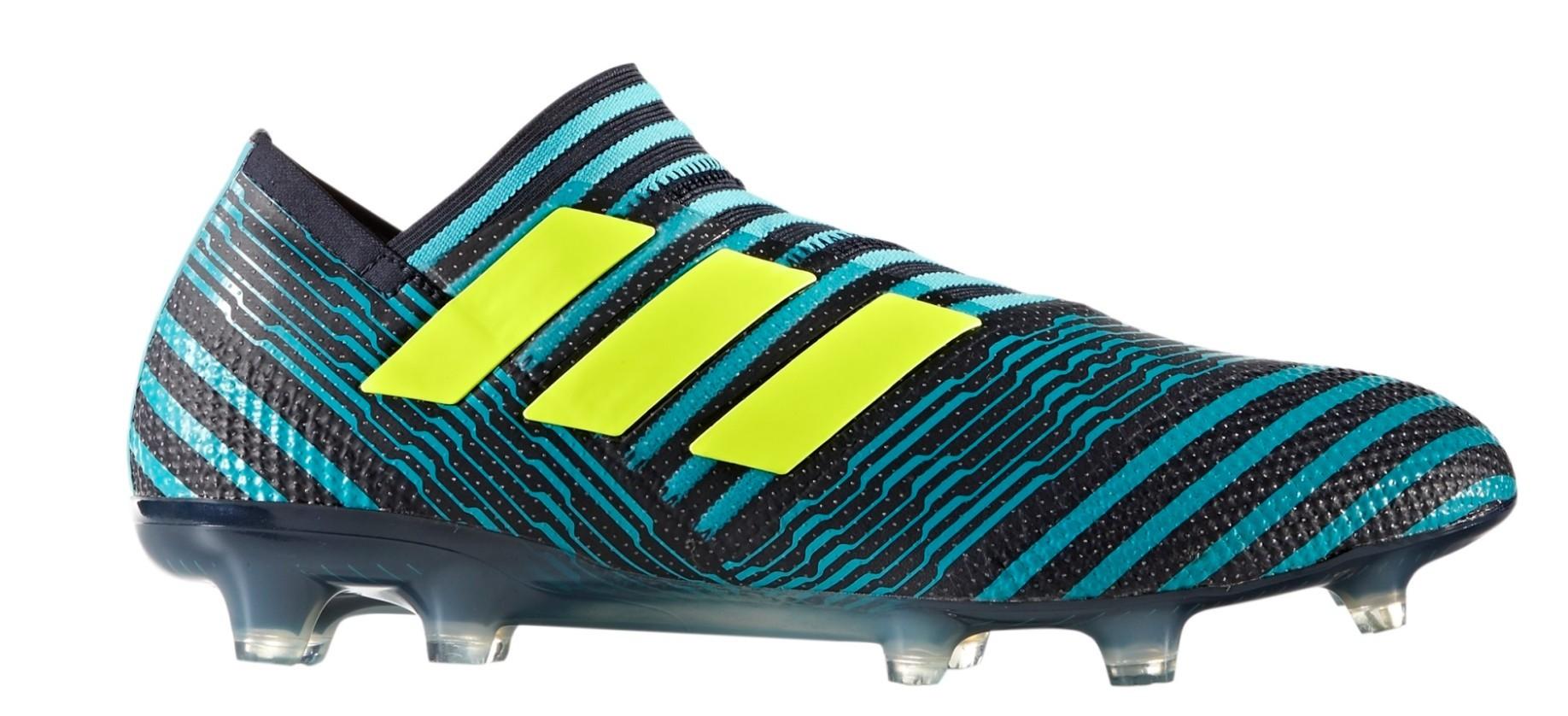d77f976f1 Adidas Football boots Nemeziz 17+ FG 360 Agility Ocean Storm Pack colore  Blue - Adidas - SportIT.com