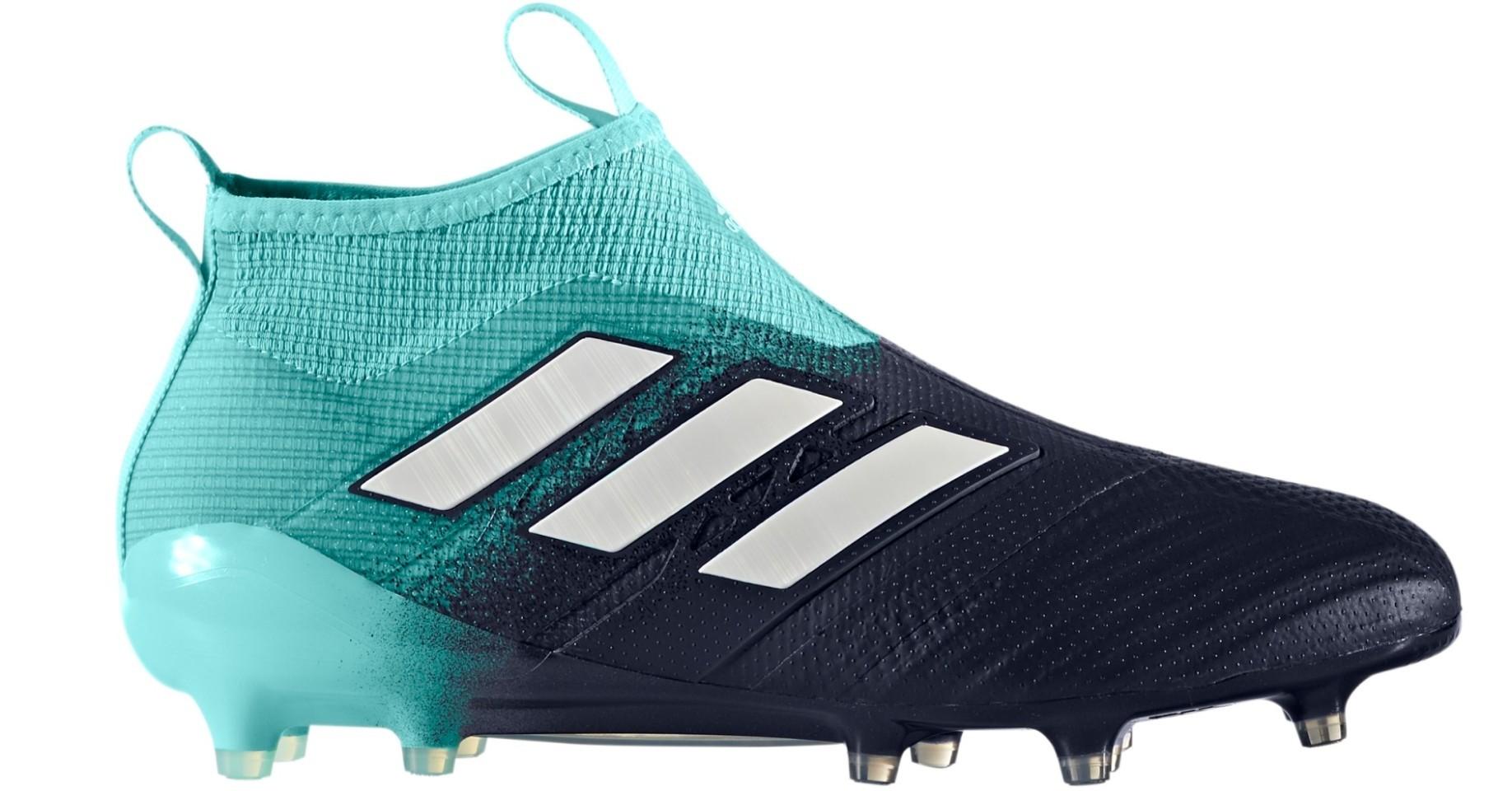 size 40 4b226 ac225 Scarpe Calcio Adidas Ace 17+ Purecontrol FG Ocean Storm Pack colore Blu  Azzurro - Adidas - SportIT.com