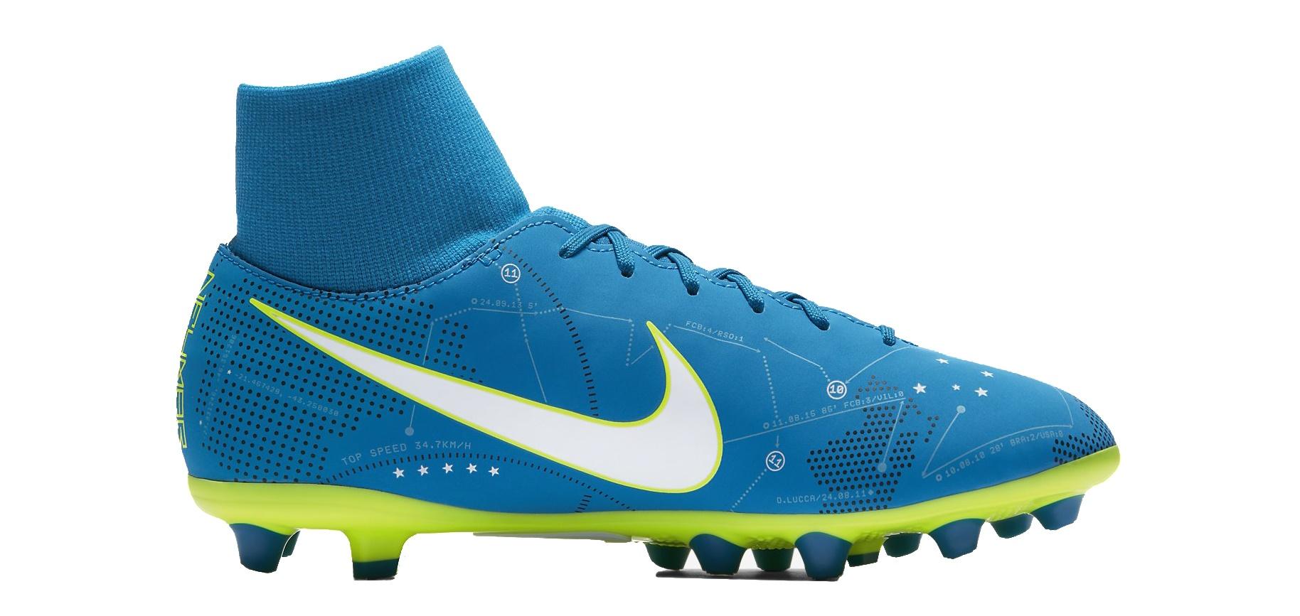 Botas de fútbol de Niño Nike Mercurial Victory VI Neymar DF AG Pro colore  azul - Nike - SportIT.com 9a6818421e6