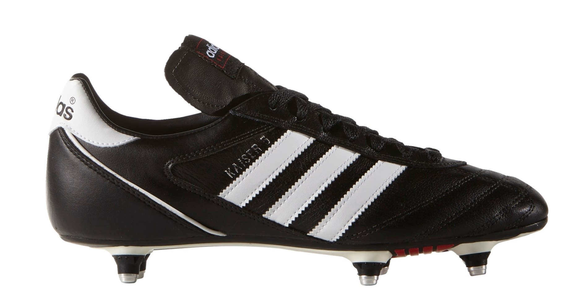 separation shoes bd1e0 2ebf1 Adidas Football boots Kaiser 5 Cup SG colore Black White - Adidas -  SportIT.com