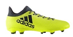 Chaussures de Football Adidas X 17.3 FG jaune