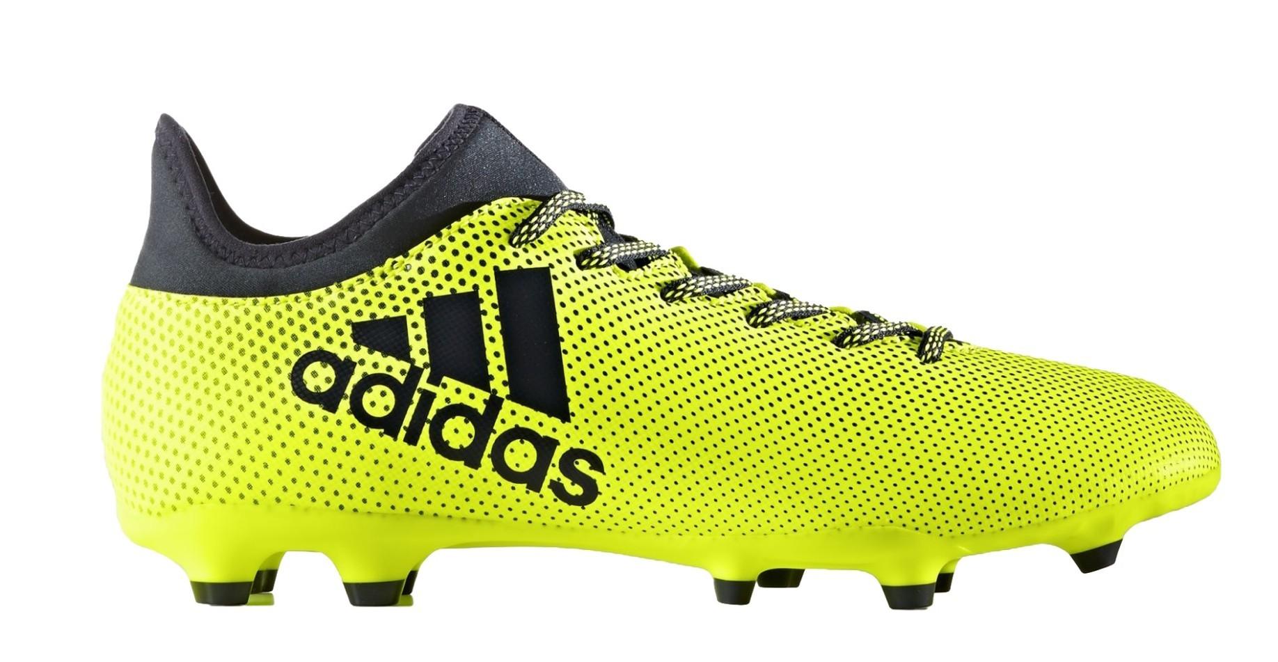 Fußball schuhe Adidas X 17.3 FG Ocean Storm Pack colore gelb