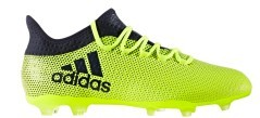 Chaussures de Football Adidas X 17.2 FG jaune